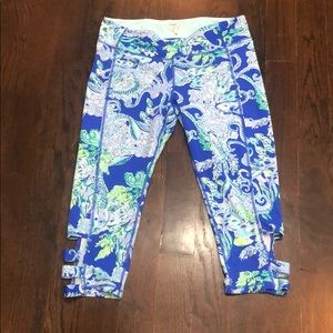 Lilly Pulitzer cropped legging